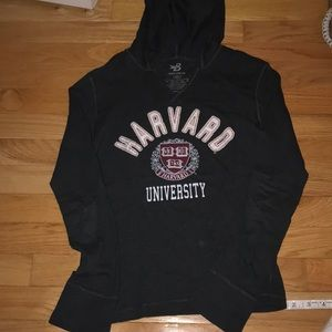 Hoodie school printed shirt in small Gray color